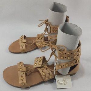 BARBARA BARBIERI studded sandals SH08